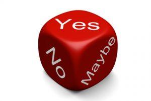 """Как слово """"да"""" работает в технике исполнения желаний."""